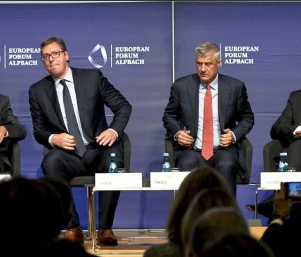 Shkëmbimi i territoreve Kosovë-Serbi/ Mediat gjermane: Qeveria gjermane njofton se idenë për shkëmbim të territoreve e dhanë Thaçi dhe Vuçiq