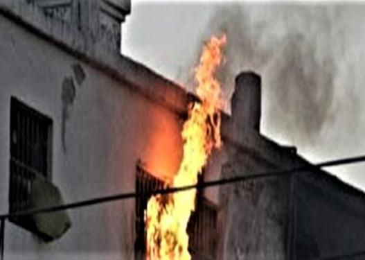 Zjarr në arkivin e stacionit policor në Drenas, dyshimet e para mbi ngjarjen