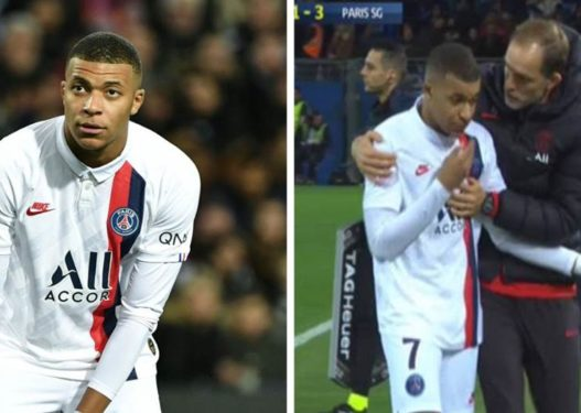 Tension edhe te PSG-ja, Mbappe reagon keq ndaj trajnerit pas zëvendësimit