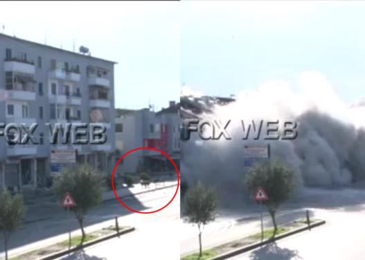 Hidhet në erë godina 5-katëshe në Shkozet të Durrësit, shpërthimi nuk kursen as qentë
