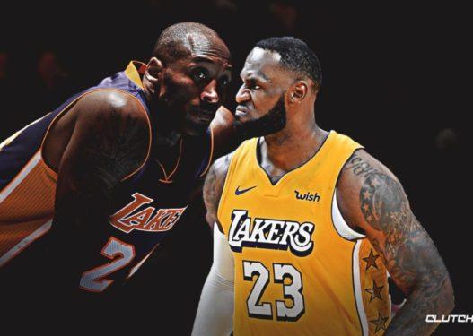 """Dy TITANËT e NBA """"haheshin kokë më kokë"""", urimi i Kobe për Lebron para vdekjes që po përlot botën"""