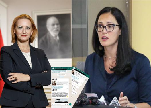 """Propaganda e Rilindjes s'njeh limite, si detyrohen punonjësit e Tatimeve t'u bëjnë """"like"""" postimeve të ministres dhe drejtores së përgjithshme"""