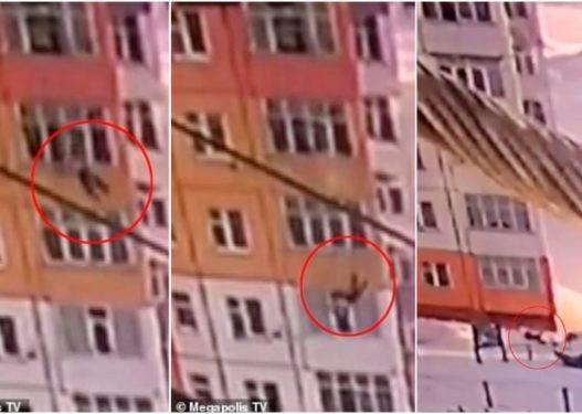 E pabesueshme/ Gruaja bie nga kati i 9-të i pallatit, ngrihet prapë në këmbë