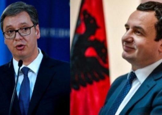 """Trembet Vuçiq: Kurti dhe Haradinaj të rrezikshëm, do të na shantazhojnë me """"Shqipërinë e Madhe"""""""
