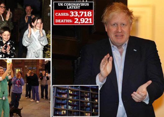 """""""Të jemi mirënjohës""""/ Kryeministri Boris Johnson dhe britanikët duartrokasin mjekët"""