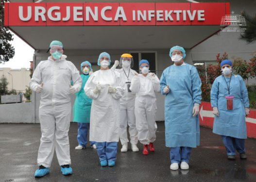 5 pacientë të tjerë lënë spitalin/ Deri më tani janë shëruar 76 shqiptarë nga koronavirusi