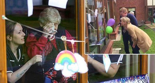 Prekëse, e moshuara feston 100-vjetorin përmes xhamit të dritares