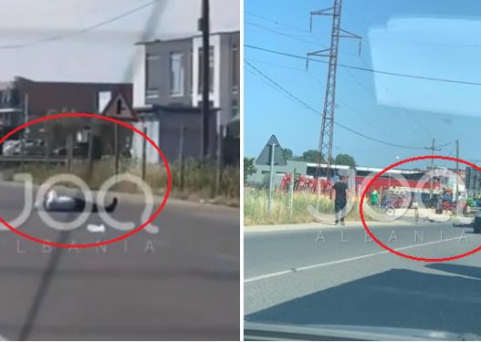 E përplas makina dhe mbetet 40 minuta në mes të rrugës, qytetari: Po jep shpirt, ambulanca s'duket!