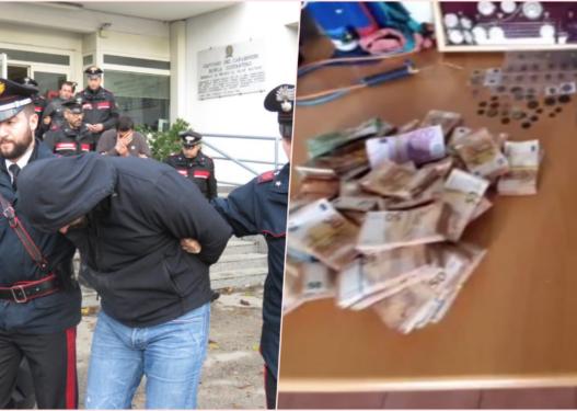 Shkatërrohet banda shqiptare në Itali, sekuestrohen makina luksoze, bizhuteri të shtrenjta dhe 250 mijë euro