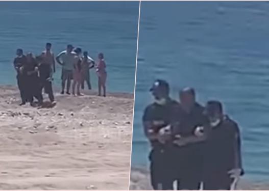 Po largonte pushuesit, policit i bien të fikët në plazh