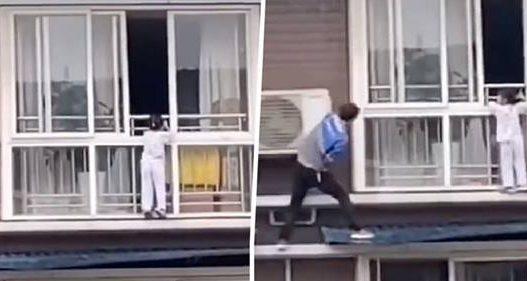 Punëtori bën gjestin e çmuar, shpëton fëmijën nga kati i gjashtë