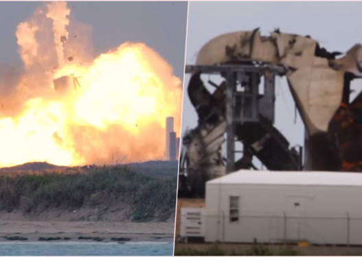 Prototipi ianijes SpaceX shpërthen gjatë testimit