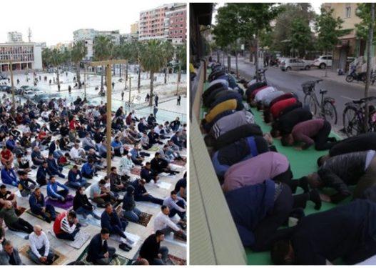 Besimtarët myslimanë nuk i binden qeverisë/ Dynden në masë për të falur Bajramin