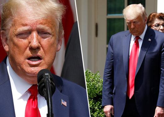 """Deklarata e neveritshme e Trump për të vdekurin: Floyd po na sheh nga lart, """"super-ditë""""!"""