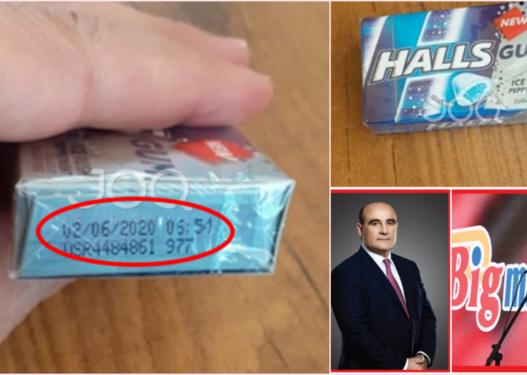 Bleu një pako me çamçakëza në Big Market, i riu tregon 'marifetin e çuditshëm' te data e skadencës