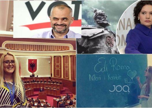 """Skënderbeu dhe Nderi i Kombit! Edi Rama ka një tjetër """"Elisë"""", specialiste në Kuvendin Kombëtar"""