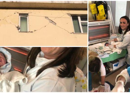 U shkatërrua nga tërmeti dhe qeveria s'bëri gjë, në këtë spital fëmijët lindin në kushte skandaloze