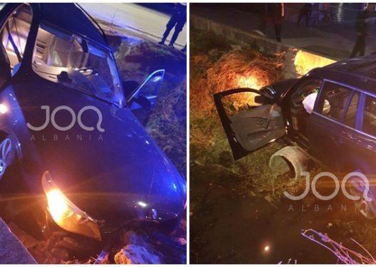 Benzi i del para dhe bën aksident, qytetari: I them atij që më preu rrugën, ta ktheftë Zoti!