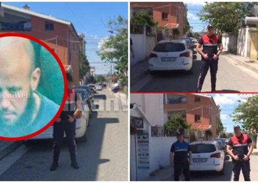 """""""Pasha Allahun që do ju vras""""/ Ronald Kryemadhi grushtoi policin dhe hipi në majë të tarracës"""