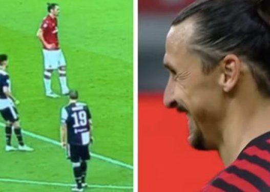 """""""Pritja, ti e njeh atë""""/ Reagimi i Ibrahimoviç pas provokimit të Ronaldos"""
