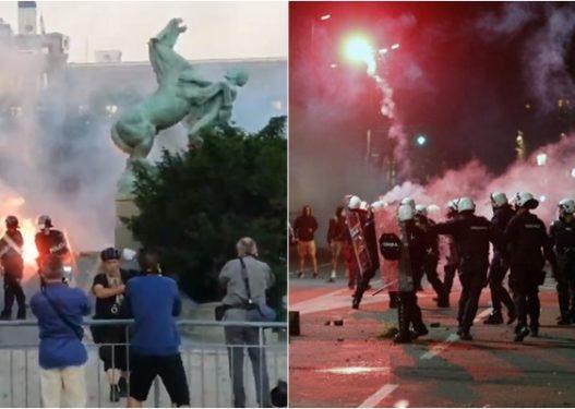 Vuçiç tërhiqet nga plani i mbylljes, protestuesit: Jep dorëheqjen!