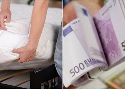 30 mijë euro poshtë krevatit, si u arrestua 27-vjeçari shqiptar?