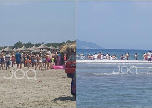 """Rit fetar në plazhin e Zvërnecit, qytetarja: Jehovai! Po këndojnë """"Zoti është me ne"""""""