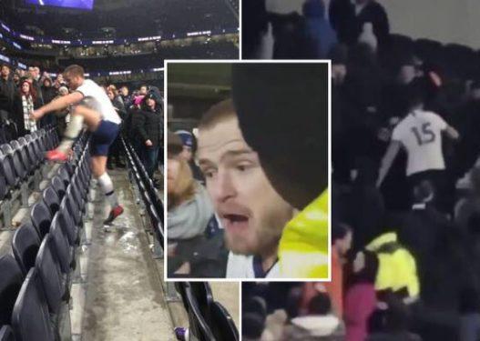 Goditi tifozin në shkallët e stadiumit, gjobë dhe dënim i ashpër për futbollistin e Tottenhamit