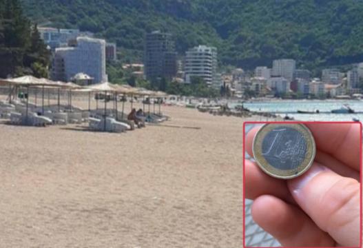 Korona 'boshatis' plazhet e Malit të Zi, pronari i një lokali: Kam fituar vetëm 1 euro!