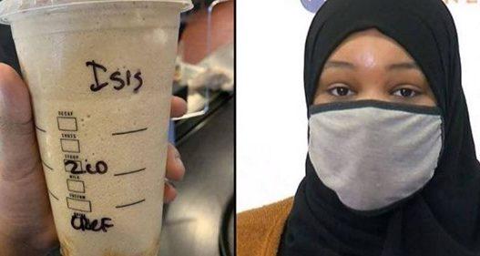Porositi kafe, kamarierja bën gjestin provokues ndaj gruas muslimane, i shkruan në kupë: ISIS