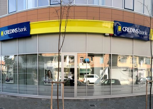 Banka Credins vjen me degën më të re SMART në Tiranë duke ofruar një eksperiencë unike për çdo klient drejt një bankingu digjital