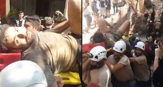 Momente shprese/ Vazhdojnë kërkimet për shpëtimin e të mbijetuarve në Beirut