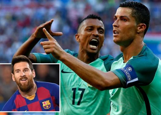Nani: Ronaldo është më i mirë se Messi, Maradona dhe Pele