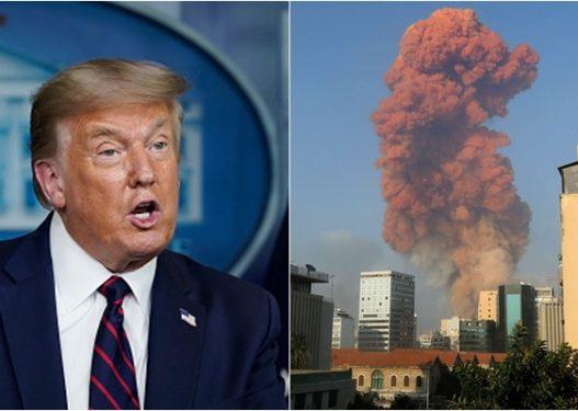 Reagon Trump: Tragjedia në Beirut u shkaktua nga një sulm me bombë