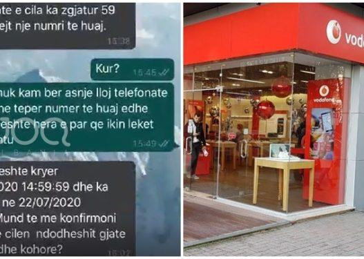 Qytetarit i zerohet krediti/ Vodafone e lë prej javësh pa përgjigje