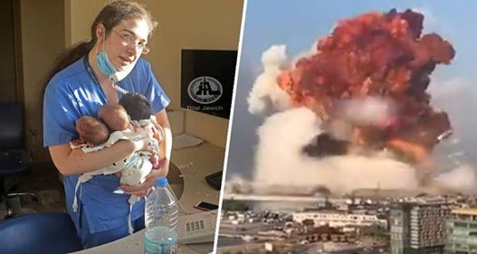 Gjesti heroik! Infermierja shpëton tri foshnje gjatë momentit të shpërthimit në Beirut