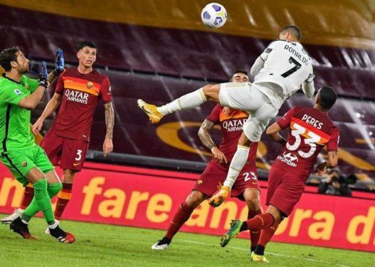 Ronaldo shpëton Juventusin nga humbja, barazon i vetëm Romën