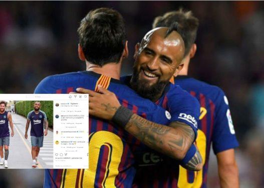 Vidal te Interi/ Messi entuziazmon zikaltërit: Suksese te klubi i ri, një ditë do takohemi sërish bashkë