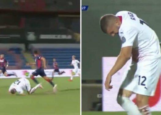 Rebicit i del bërryli gjatë ndeshjes, zbulohet sa do mungojë sulmuesi kroat për Milanin