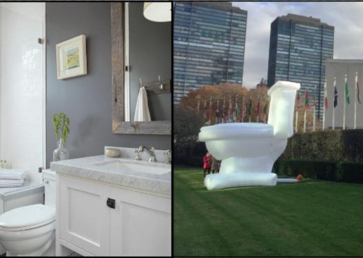 Pse WC-të janë gjithmonë me ngjyrë të bardhë?