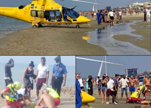 2 italianë të maskuar qëllojnë shqiptarin me armë zjarri në mes të plazhit