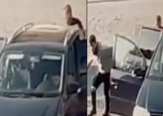 E jashtëzakonshmja në Elbasan, nga makina 5 vendëshe dalin 12 emigrantë sirianë