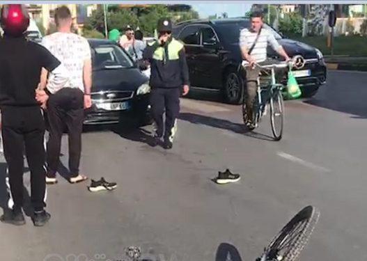 Sërish aksident në kryeqytet, automjeti përplas këmbësorin