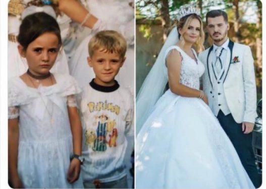 U njohën në fëmijëri, çifti shqiptar gjejnë njëri-tjetrin pas 13 vitesh dhe martohen