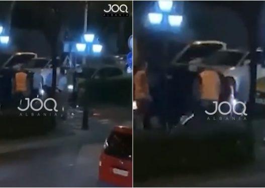 Plas sherri, drejtuesi i automjetit nuk i hapi rrugën të rinjve me biçikletë