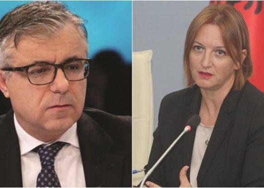 """Gazetari ia """"plas"""" në sy ministres: Keni monopolizuar shëndetësinë, paguajmë 120 euro te privati për testin Covid-19"""