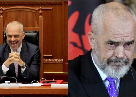 """SONDAZHI/ A mendoni se populli do t'i japë Edi Ramës një mandat të tretë qeverisës? 72% e votuesve: """"Jo"""""""