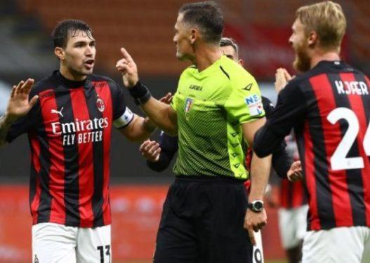 Bëri lëmsh ndeshjen Milan-Roma, dënohet arbitri italian