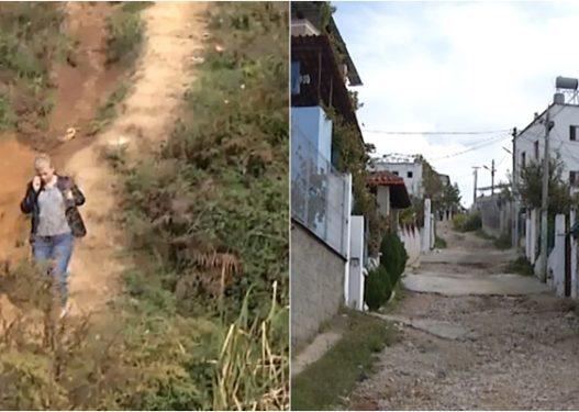 Tiranë/ Rruga në Shkozë jashtë funksionit, banorët ankohen për një sërë problemesh