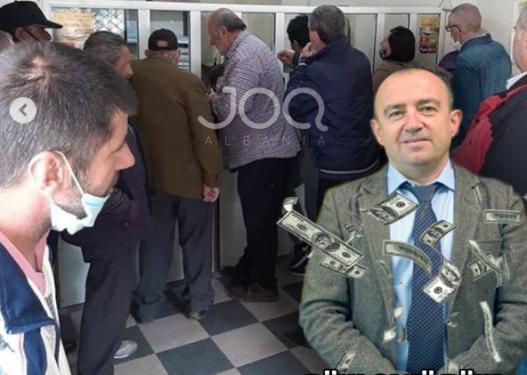 """Shqiptarët e varfër 'paketohen si sardele' në zyrat e Postës të PASHA Laertit """"Populli në vdekje të sigurt!"""""""